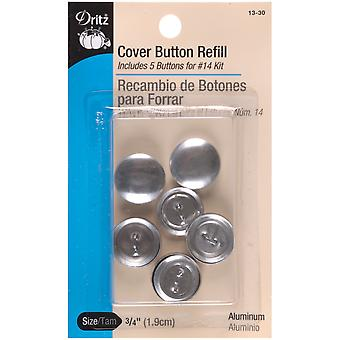 Cover Button Refills-Size 30 3/4