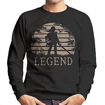 Legend Of Zelda Sunset Triforce Men's Sweatshirt