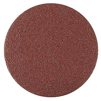 Wolfcraft 5 80 grit self-adhesive sanding discs