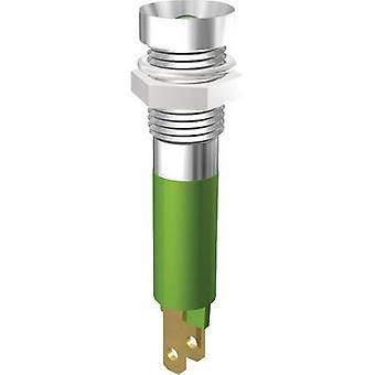 Signaal construeren LED lampje geel 24 Vdc SMZD08124