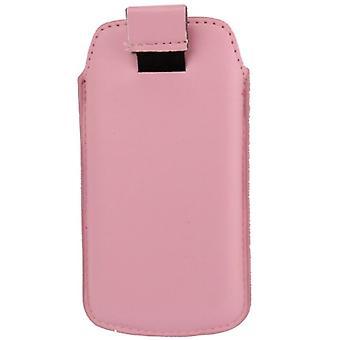Sac affaire mobile slide couverture rose