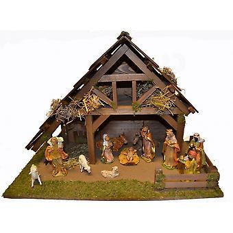Wieg Nativity kerst geboorte stabiel ELIAS houten wieg