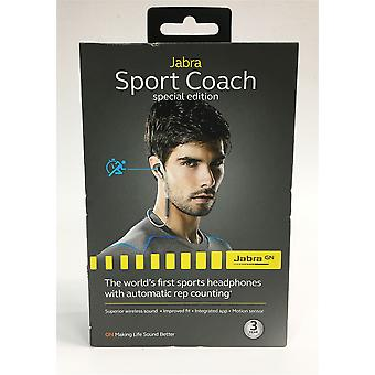 NEW Jabra Grey Blue Sport Coach Special Edition Bluetooth Wireless In Ear Earphones