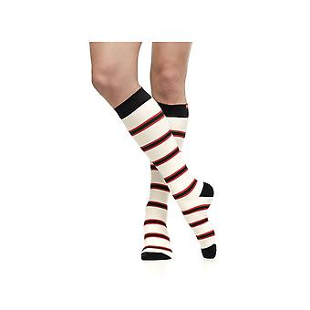 Vim & Vigr 15-20 mmHg Women's Stylish Compression Socks - Nylon