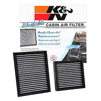 K&N VF3016 Washable & Reusable Cabin Air Filter Cleans and Freshens Incoming Air for your Citroen, Peugeot