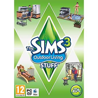 The Sims 3 Outdoor Living Stuff (PCMac DVD)