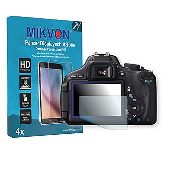 Canon EOS Kiss X5 Screen Protector - Mikvon Armor Screen Protector (Retail Package with accessories)