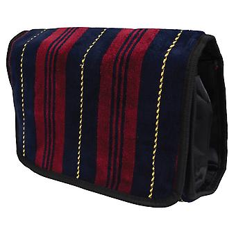 Bown of London Marchand Wash Bag - Gold/Red/Navy