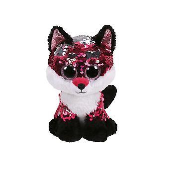 TY Flippable Jewel roze/zwart Sequin Fox muts