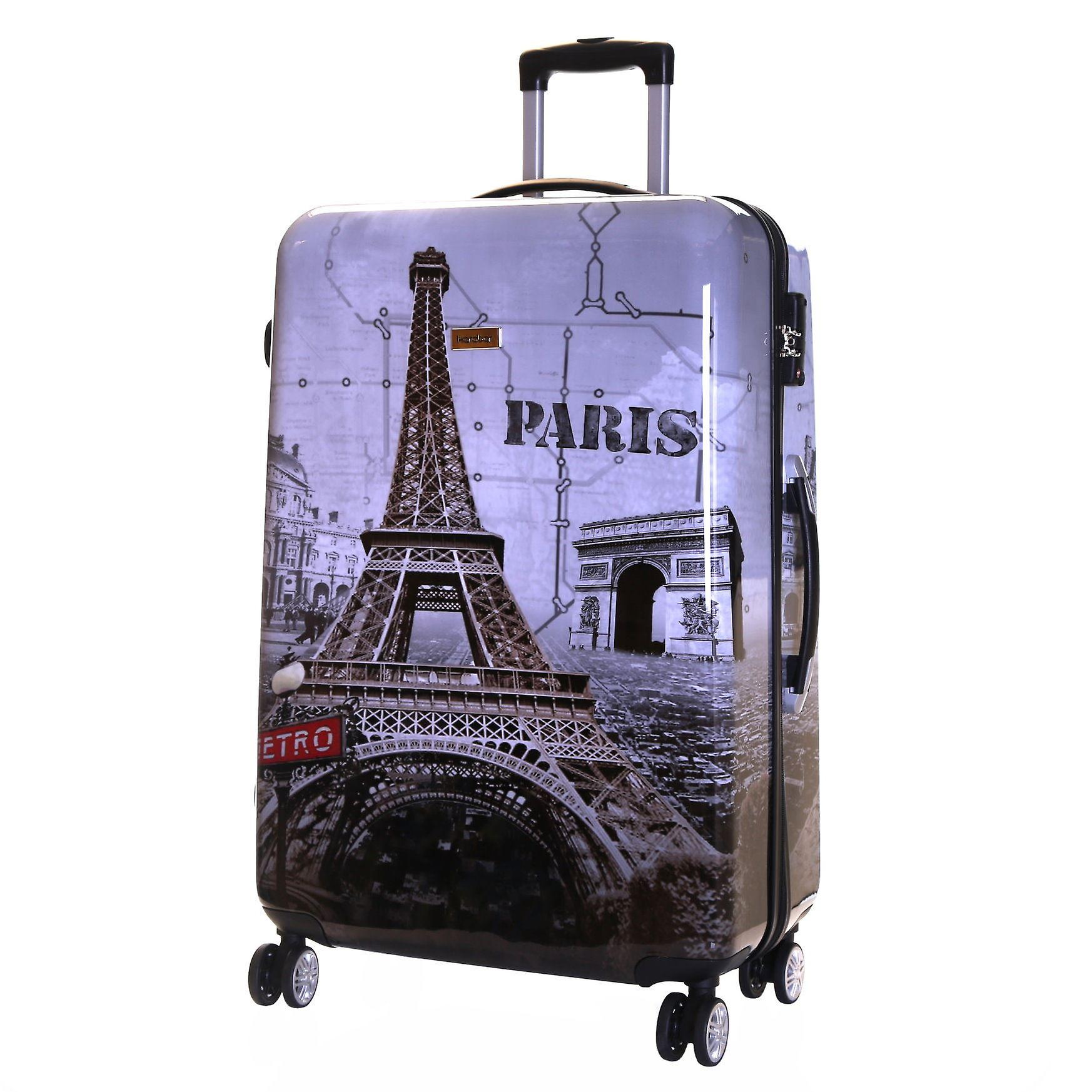 Karabar Falla Large 76 cm Hard Suitcase, Paris