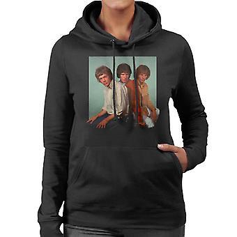 TV Times Walker Brothers Portrait Women's Hooded Sweatshirt