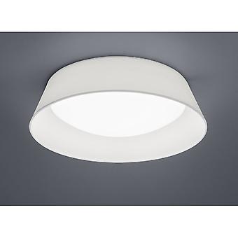 Trio Lighting Ponts Modern White Fabric Ceiling Lamp