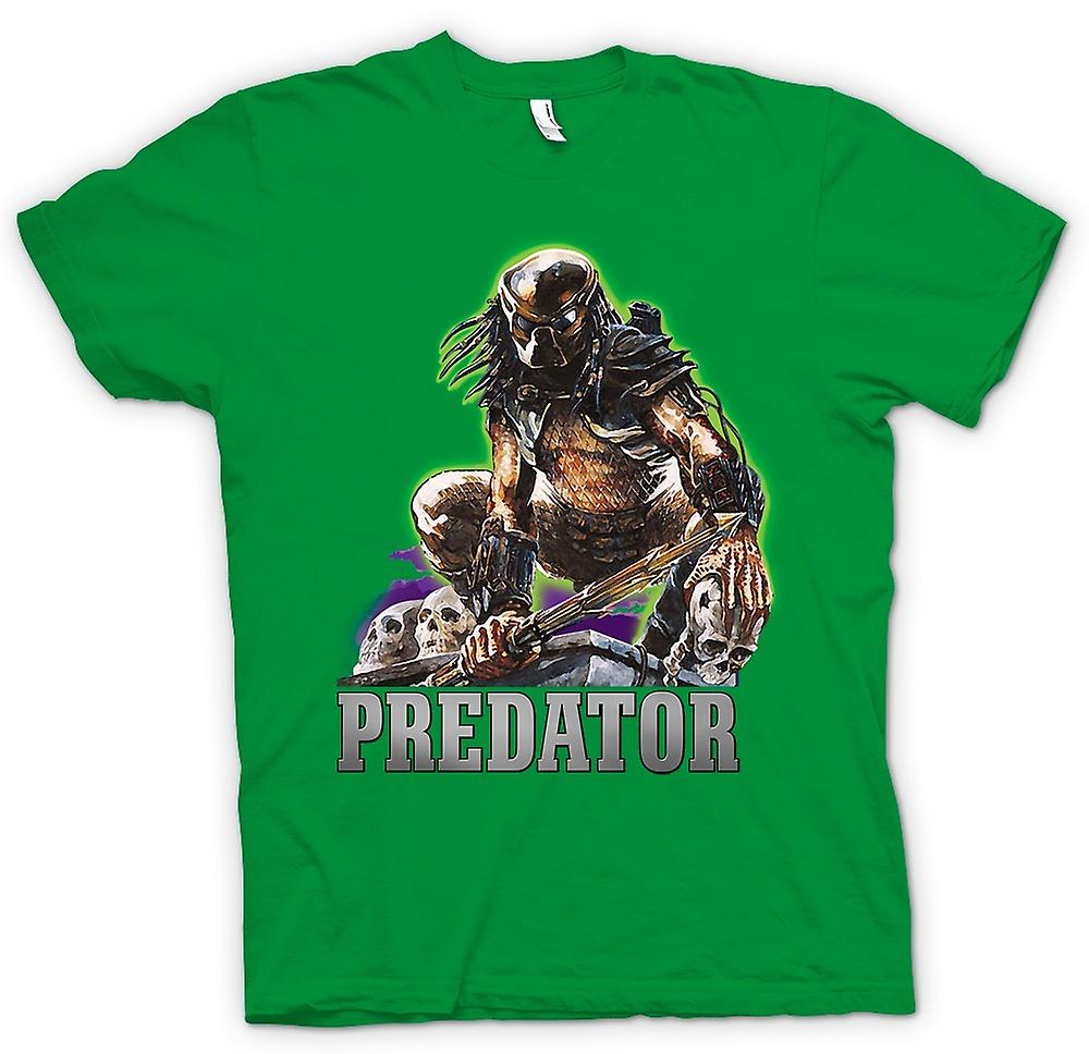 Herr T-shirt - Predator Hunter - klassisk film