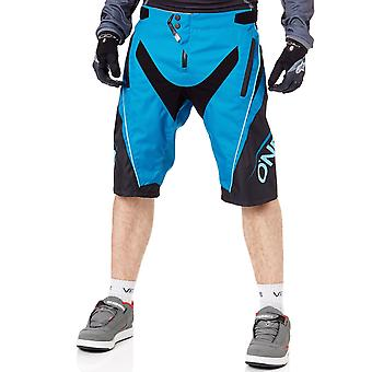 Oneal Greg Minnaar Blue-Black 2019 Element FR Blocker MTB Shorts