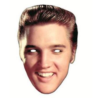 Elvis Presley Card Face Mask
