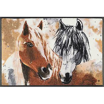 wash + dry mat ginger & beauty 50 x 75 cm horse washable dirt mat