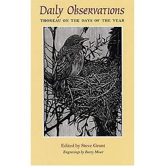 Täglichen Beobachtungen: Thoreau Tage des Jahres