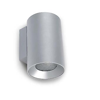 Cosmos Grey Large Double LED Outdoor Wall Light - Leds-C4 05-9957-34-CL