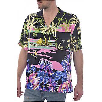 Fluid F92h03 Wo02s - Guess Jeans Hawaiian shirt