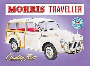 Morris Minor Traveller Steel Sign