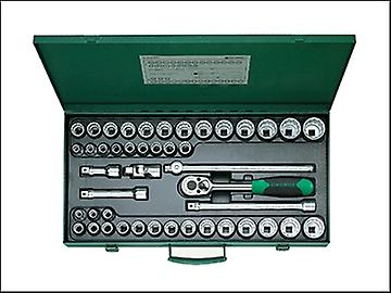 Stahlwille Socket Set of 45 Bi-Hexagon AF / Metric