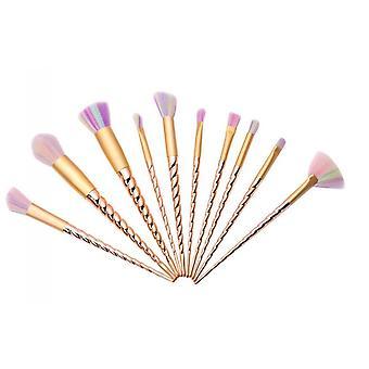 10pcs makeup brushes Unicorn