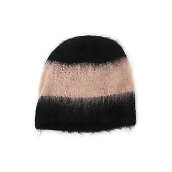 Alexander Wang Black/pink Wool Hat