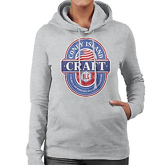 Coney Island Craft Ale Women's Hooded Sweatshirt