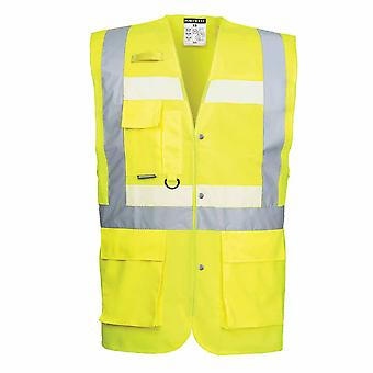 sUw - Glowtex Executive Vest Yellow 5XL