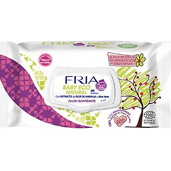 Fria Toallitas Suavizantes Baby Ecocert 80 uds (Baby & Toddler , Diapering , Baby Wipes)