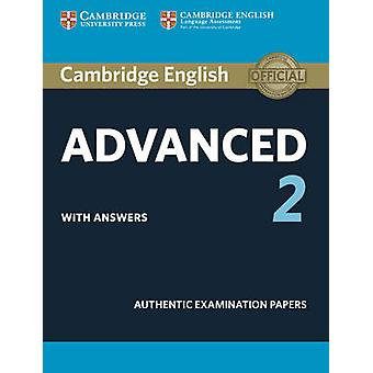 Cambridge English Advanced 2 Student's Book with Answers - Authentic E