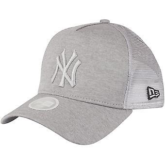 New Era Damen Trucker Cap - SHADOW New York Yankees grau