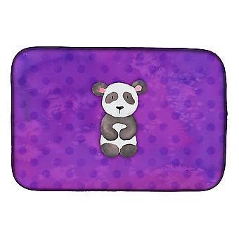 Carolines trésors BB7375DDM Polkadot Panda Bear aquarelle plat Mat de séchage