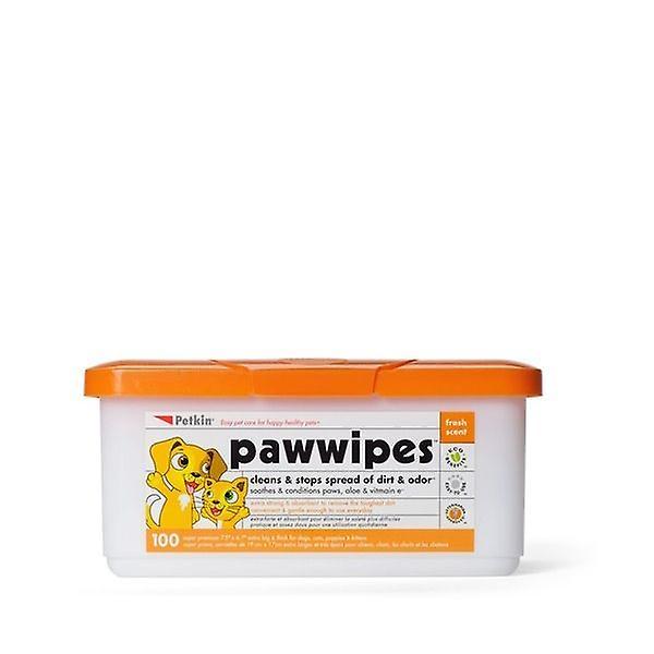 Jumbo Paw Wipes - (100)