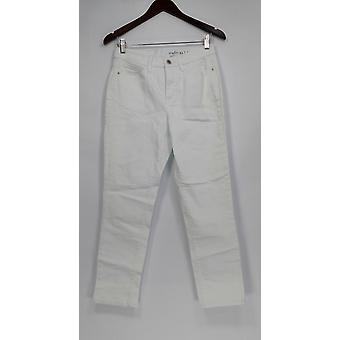 Denim & Co. vrouwen ' s jeans Studio Classic denim wit A304475