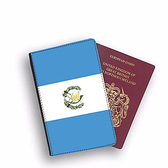 GUATEMALA Flag Passport Holder Style Case Cover Protective Wallet Flags design