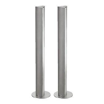 Magnat Needle Alu Super Tower *Silber* max. 120 Watt, 1Paar B-Ware