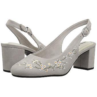 Easy Street Womens Dainty Closed Toe Casual Slingback Sandals