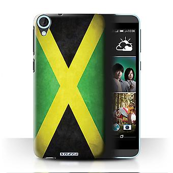 STUFF4 Case/Cover for HTC Desire 820s Dual/Jamaica/Jamaican/Flags