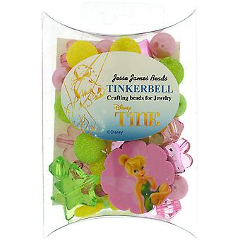 Disney Craft Beads For Jewelry-Tinkerbell DSNDIU-8411