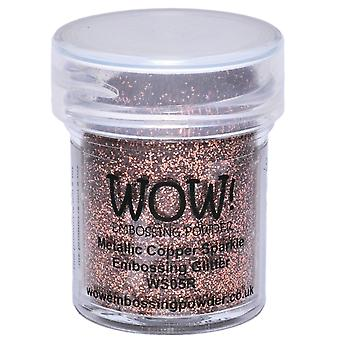 Wow! Embossing Powder 15Ml Metallic Copper Sparkle Wow Ws05r