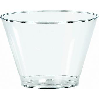 Plastic Tumblers 5 Ounces 88 Pkg Clear 35036486