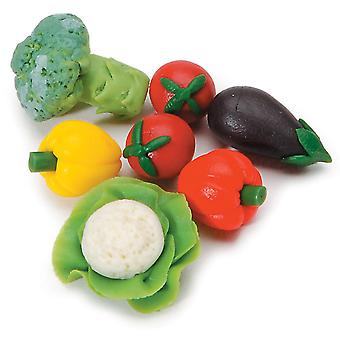 Timeless Miniatures Assorted Vegetables 7 Pkg 2318 65