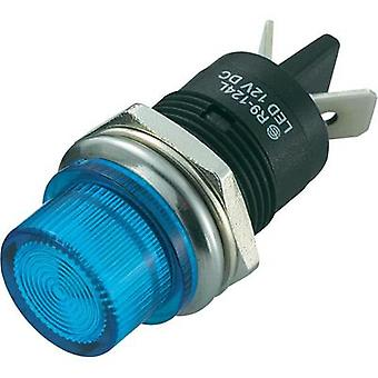 LED indicator light Blue 12 Vdc SCI