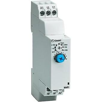 Crouzet 88827014 Time Delay Relay, Timer, IP50 (front)