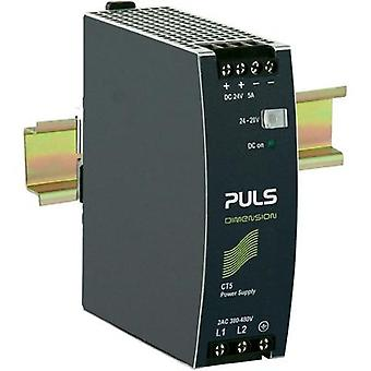 Rail mounted PSU (DIN) PULS DIMENSION CT5.241 24 Vdc 5 A 120 W 1 x