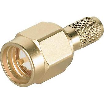 SMA connector Plug, straight 50 Ω Telegärtner J01150A0041 1 pc(s)