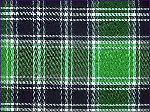 MacDonald Lord of the Isles groen, moderne - zuivere wol Tartan