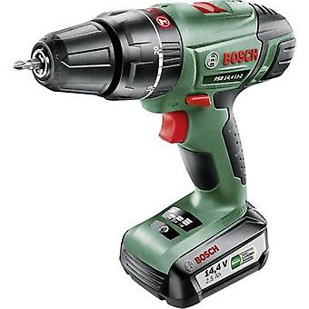 Bosch Home and Garden PSB 14,4 LI-2 Cordless impact driver 14.4 V 2.5 Ah Li-ion incl. rechargeables, incl. case