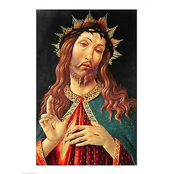 Ecce Homo or The Redeemer c1474 Poster Print by Sandro Botticelli